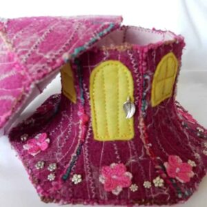Elmers Fairy House New Forest Handmade by Textile Alchemist
