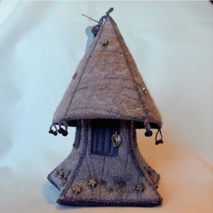 Pimlico Pixie House handmade by the Textile Alchemist