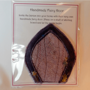 New Forest Fairy Door | Petal Arch Handmade by the Textile Alchemist